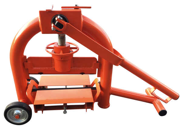 Paver Cutter 330 – 1 spindle height adjustment