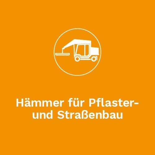 Hämmer für Pflaster und Straßenbau