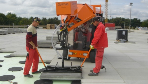 "Vacuum device ""BE"" on Paver Laying Machine"