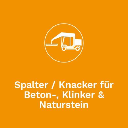 Spalter / Knacker für Beton-, Klinker & Naturstein